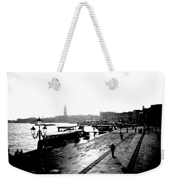 Grand Canal At Sunset Weekender Tote Bag