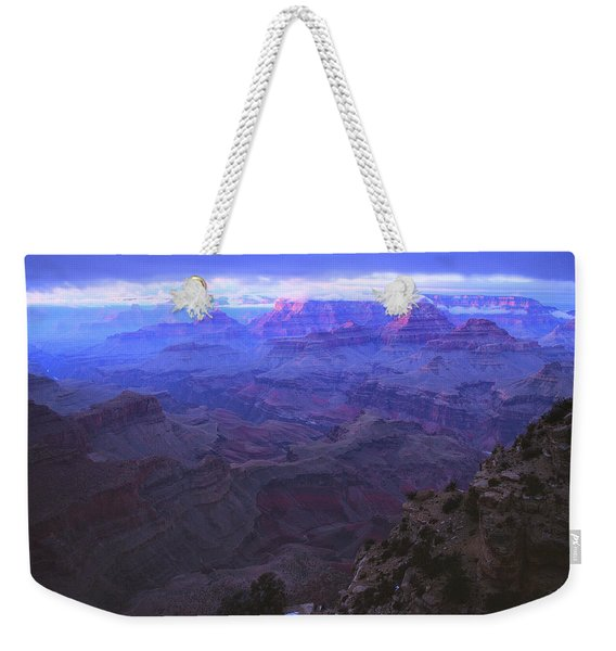 Grand Canyon Twilight Weekender Tote Bag