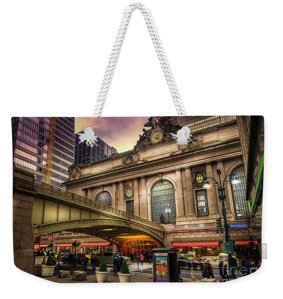 Grand Central Terminal Weekender Tote Bag