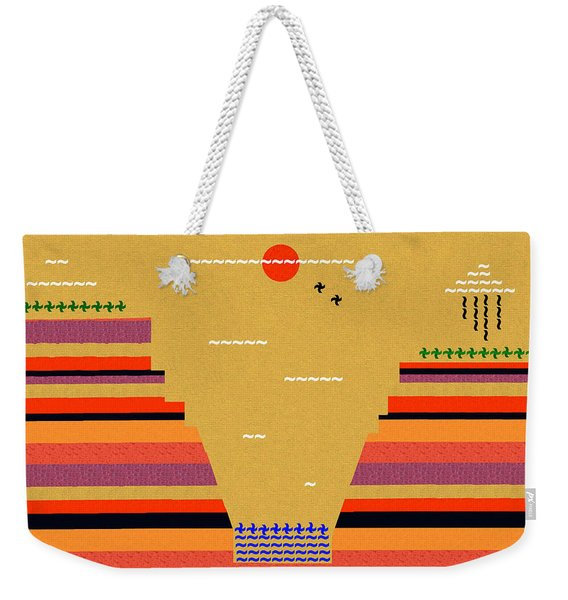 Grand Day In The Canyon Weekender Tote Bag
