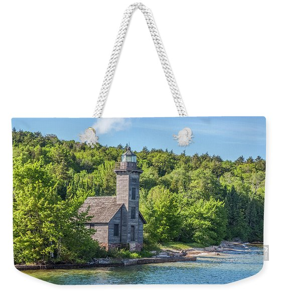 Grand Island East Channel Lighthouse, No. 2 Weekender Tote Bag