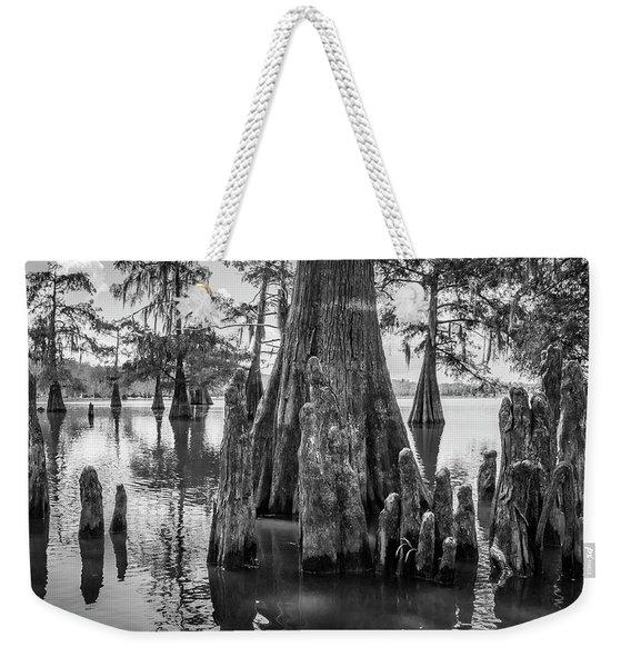 Grand Lake Cypress Weekender Tote Bag