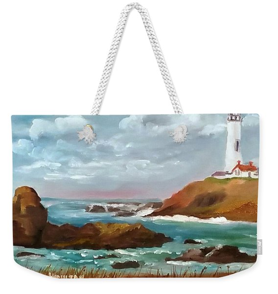Grand Lighthouse Weekender Tote Bag
