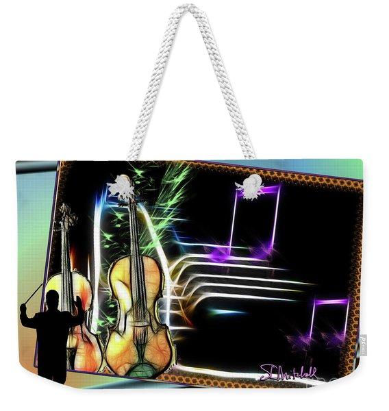 Grand Musicology Weekender Tote Bag