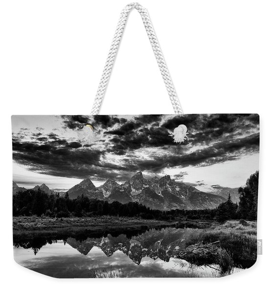 Grand Tetons, Wyoming Weekender Tote Bag