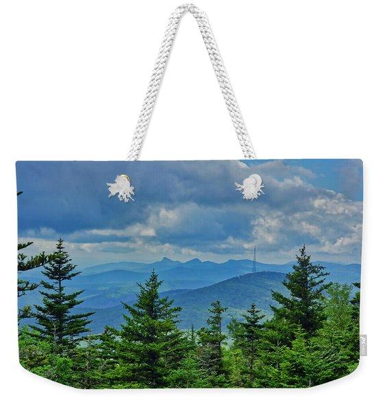 Grandmother Mountain Weekender Tote Bag