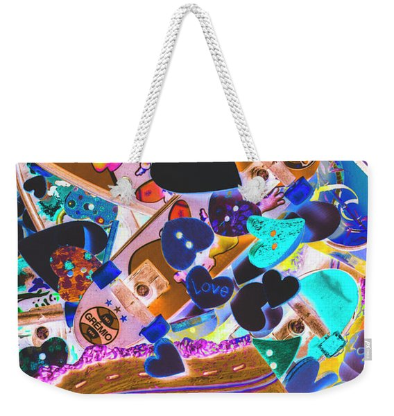 Graphic Decksign Weekender Tote Bag