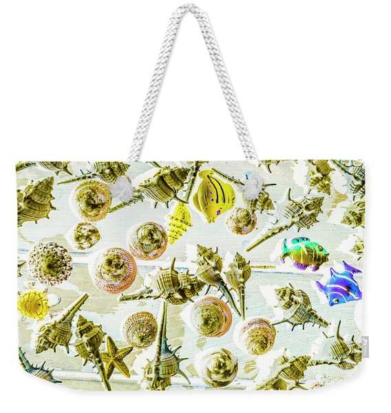 Graphically Aquatic Weekender Tote Bag