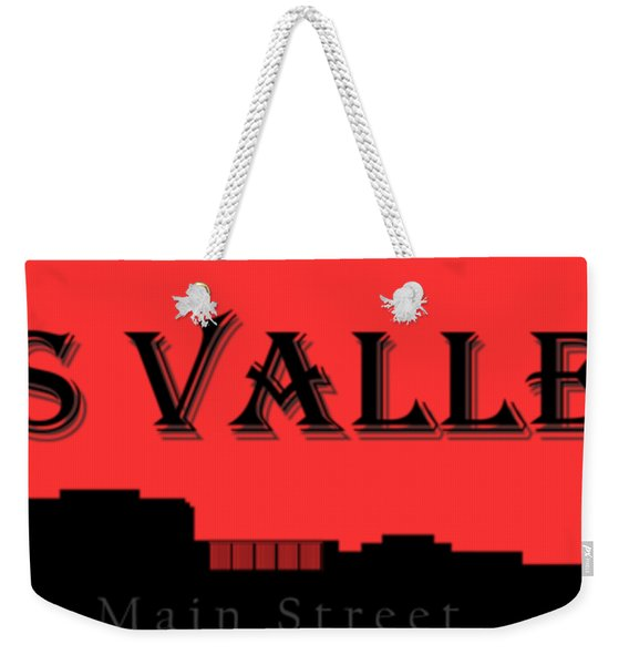 Grass Valley Skyline Weekender Tote Bag