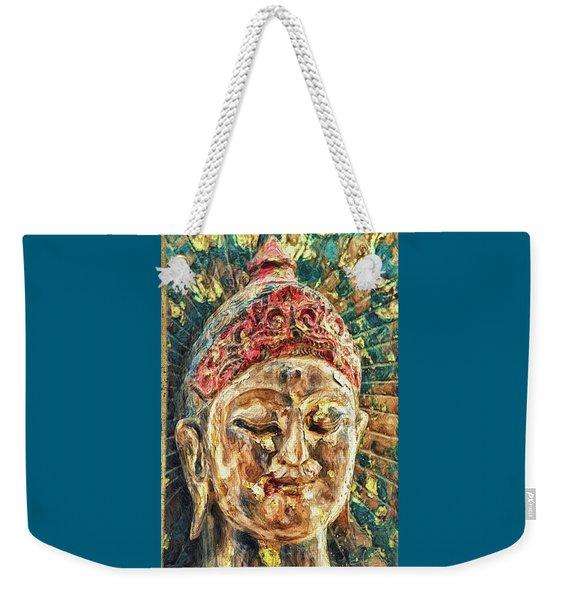 Grateful Heart Weekender Tote Bag