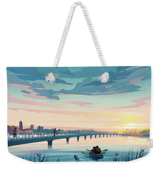Grays Lake Weekender Tote Bag