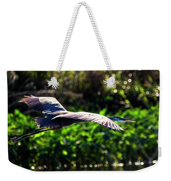Great Blue Escape  Weekender Tote Bag
