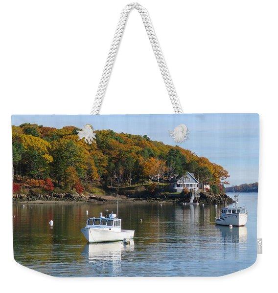 Great Diamond Island Maine Weekender Tote Bag