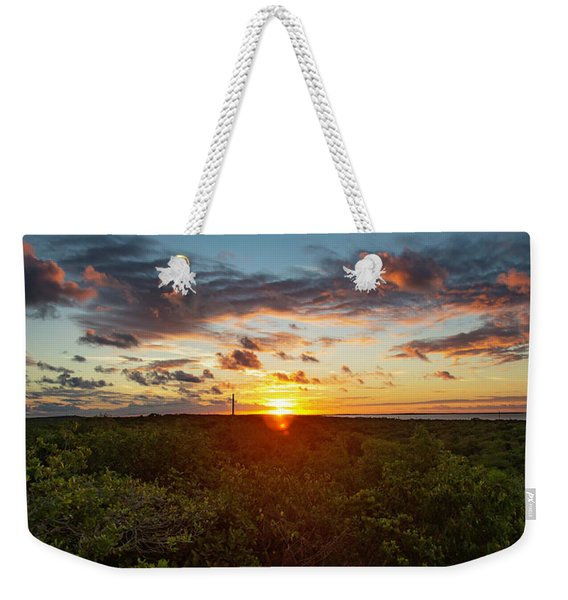 Great Exuma Sunrise Weekender Tote Bag