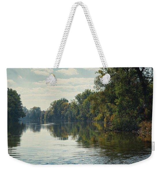Great Morava River Weekender Tote Bag