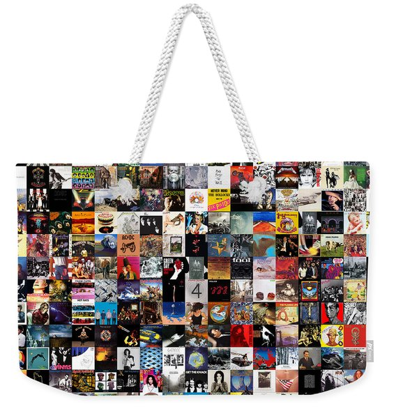 Greatest Album Covers Of All Time Weekender Tote Bag