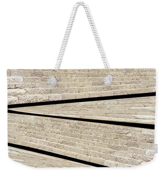 Greek Layers Weekender Tote Bag