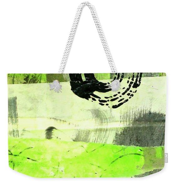 Green Balance No. 1 Weekender Tote Bag