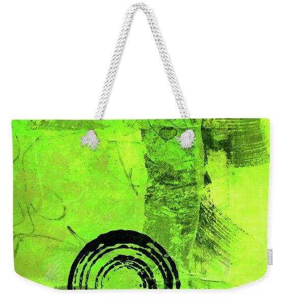 Green Balance No. 2 Weekender Tote Bag
