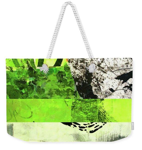 Green Balance No. 5 Weekender Tote Bag