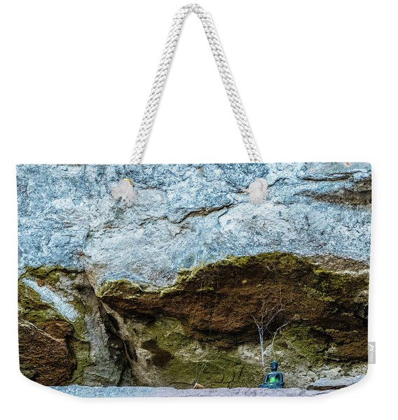 Green Buddha And The Flying Trapeze Weekender Tote Bag
