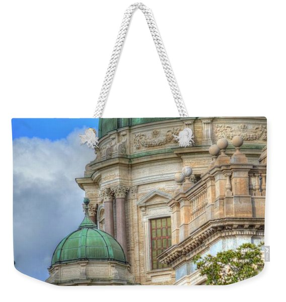 Green Dome's Of Italy Weekender Tote Bag