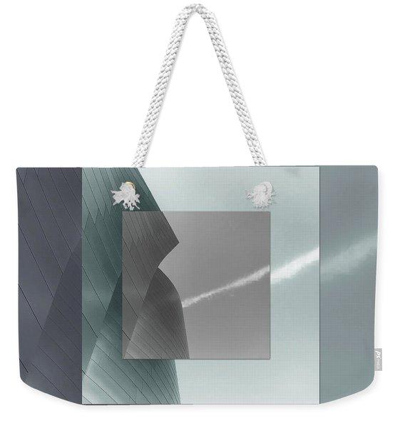 Green Gehry Weekender Tote Bag