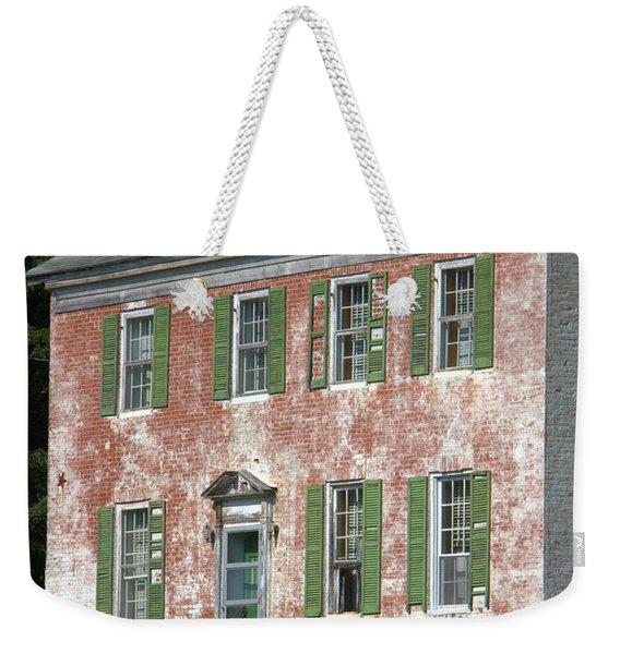 Green Town Weekender Tote Bag