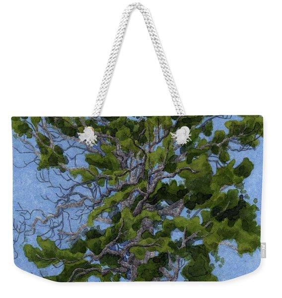 Green Tree, Hot Day Weekender Tote Bag