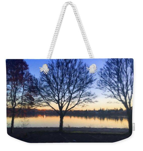 Greenlake Dawn Weekender Tote Bag