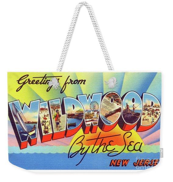 Wildwood Greetings - Version 1 Weekender Tote Bag