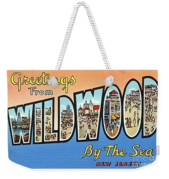 Wildwood Greetings - Version 4 Weekender Tote Bag