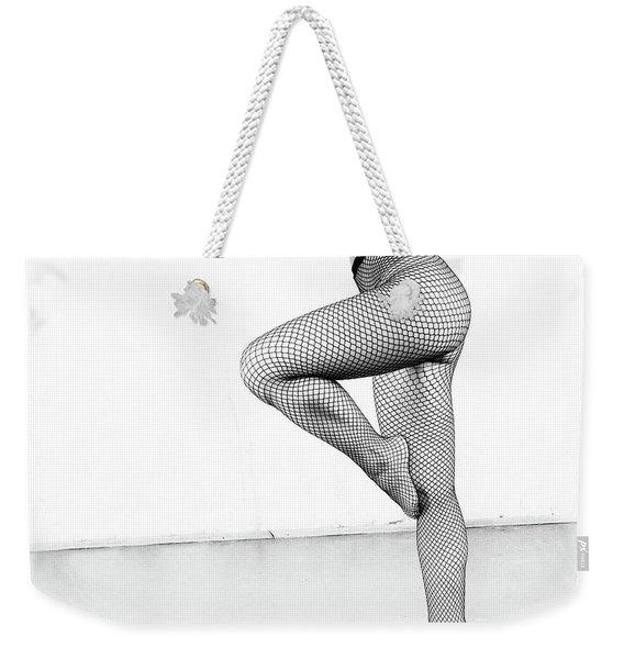 Grid #3736 Weekender Tote Bag