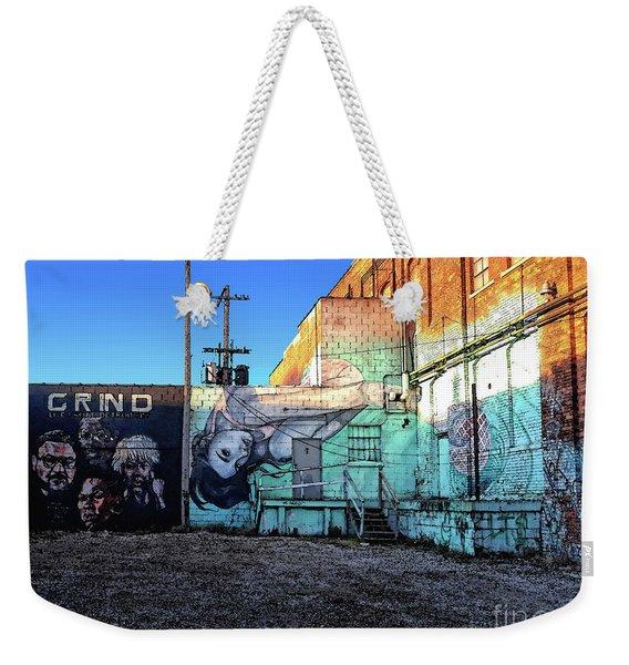 Grind - Live From Detroit City Weekender Tote Bag