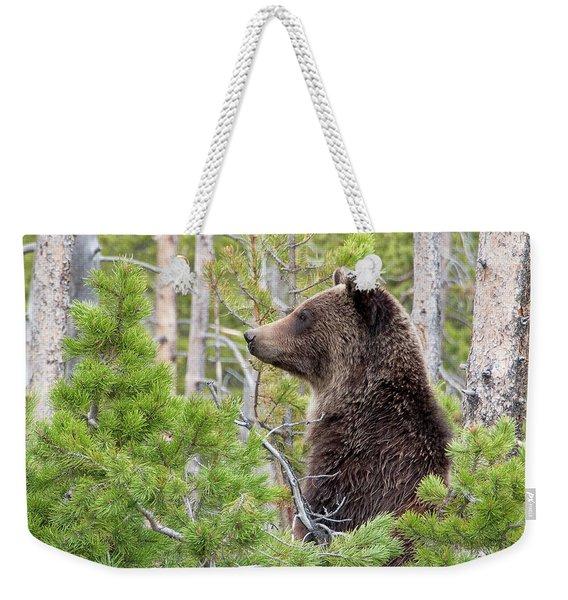 Grizzly Profile Weekender Tote Bag