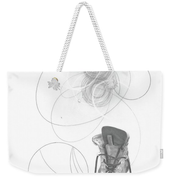 Ground Work No. 1 Weekender Tote Bag