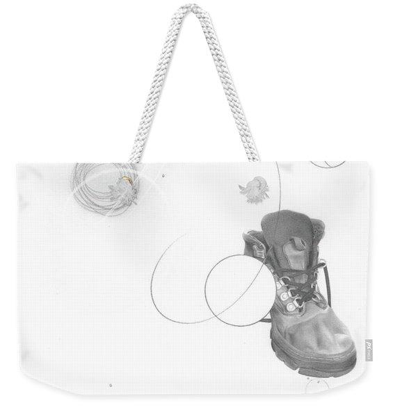 Ground Work No. 2 Weekender Tote Bag