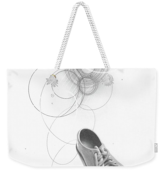 Ground Work No. 3 Weekender Tote Bag