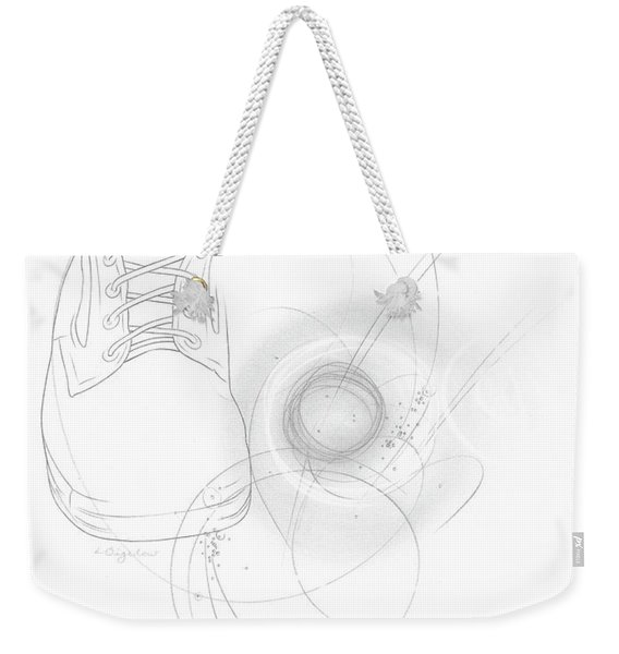 Ground Work No. 5 Weekender Tote Bag