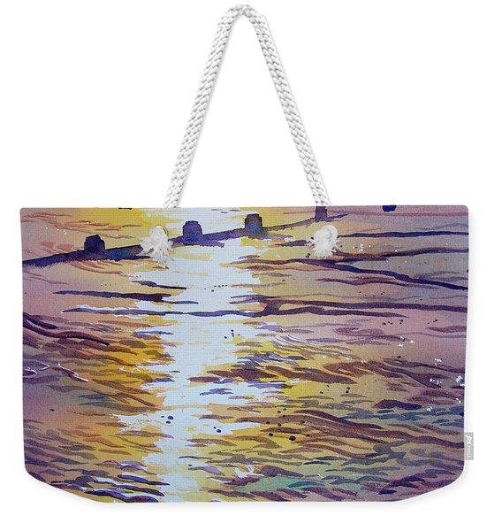 Groynes And Glare Weekender Tote Bag