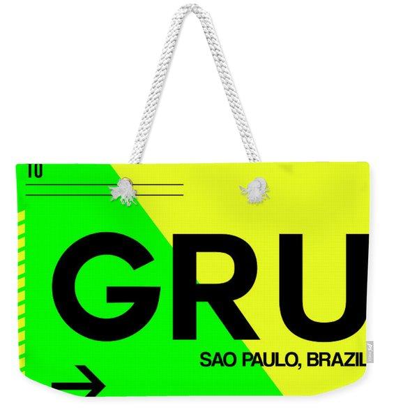 Gru Sao Paulo Luggage Tag I Weekender Tote Bag