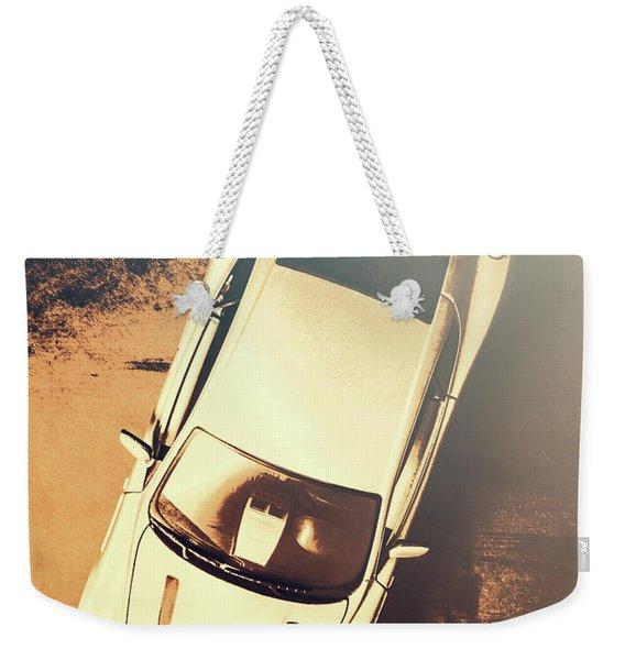 Grunge Garage Weekender Tote Bag
