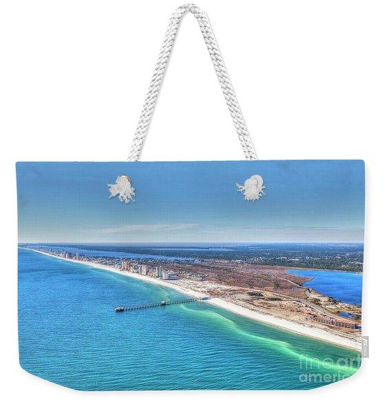 Gsp Pier And Beach Weekender Tote Bag