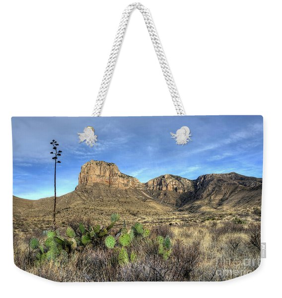 Guadalupe Desert Weekender Tote Bag