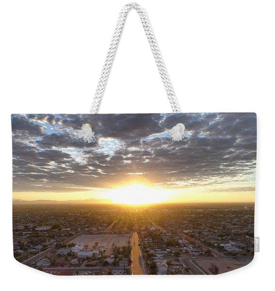 Guadalupe Sunset Weekender Tote Bag