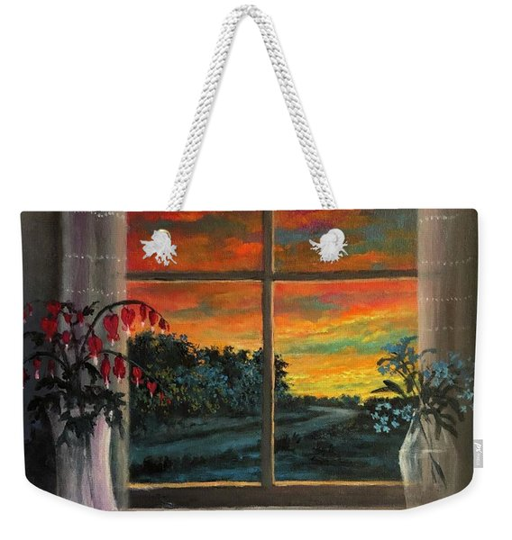 Guarding The Soul Weekender Tote Bag