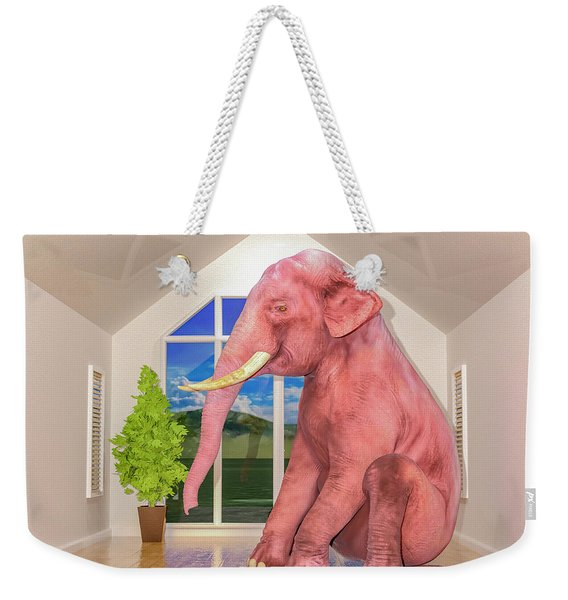 Guess What's In The Room Weekender Tote Bag