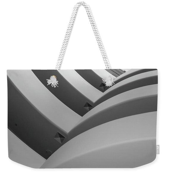 Guggenheim_museum Weekender Tote Bag