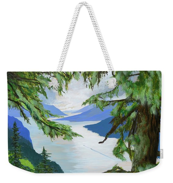 Guided Through The Fjords Weekender Tote Bag
