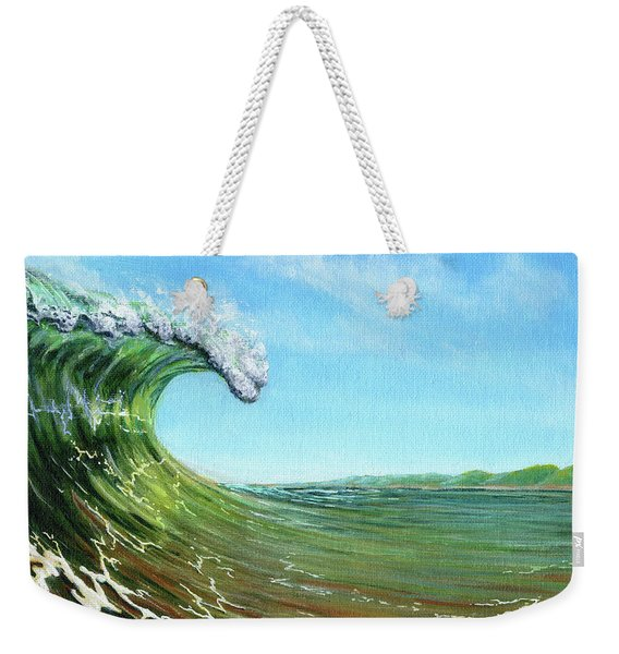 Gulf Of Mexico Surf Weekender Tote Bag